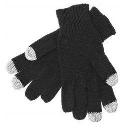 Перчатки для сенсорных экранов (3 пальца, размер S) (R0000493) (черный)