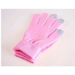 Перчатки для сенсорных экранов (3 пальца, размер M) (R0001013) (светло-розовый)