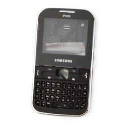 Корпус для Samsung C3222 (CD015123) (черный)