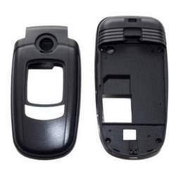 Корпус для Samsung E730 (GO000386) (черный)