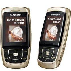 Корпус для Samsung E830 (CD001697) (золотистый)