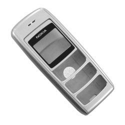 Корпус для Nokia 1600 без средней части (CD000150) (серебристый)