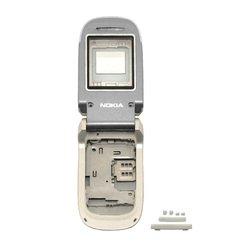 Корпус для Nokia 2760 (CD003610) (серебристый)