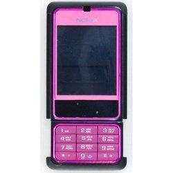 Корпус для Nokia 3250 со средней частью (CD000260) (розовый)