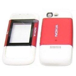 Корпус для Nokia 5300 XpressMusic (CD000159) (красный/белый)
