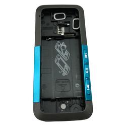 Корпус для Nokia 5310 XpressMusic (CD001113) (черный/синий)