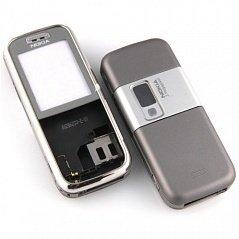 Корпус для Nokia 6233 со средней частью (CD000462) (серый)