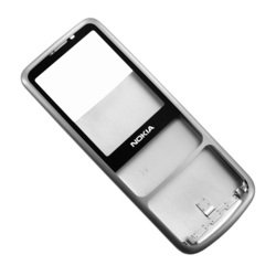 Корпус для Nokia 6700 Classic без средней части (CD003969) (серебристый)