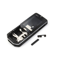 Корпус для Nokia 7500 Prism без средней части (CD001095) (черный)