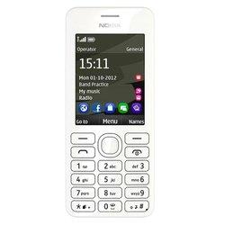 Корпус для Nokia Asha 206 (R0002257) (белый)