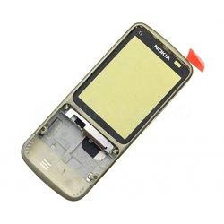 Корпус для Nokia C3-01 (CD121365) (золотистый)