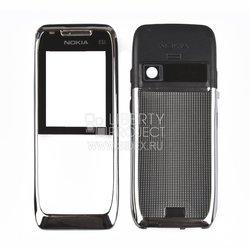Корпус для Nokia E51 (CD002138) (серебристый)