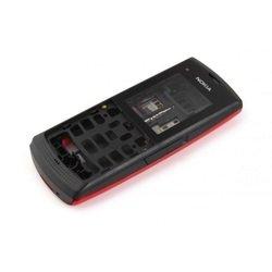 Корпус для Nokia X1-00 (CD020847) (красный)