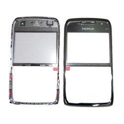 Передняя панель с защитным стеклом дисплея для Nokia E71 (CD124785) (серый)