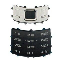Клавиатура для Samsung S7350 (CD020733) (черный)
