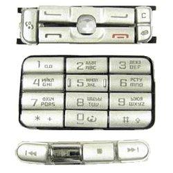 Клавиатура для Nokia 3250 (CD002545) (белый)