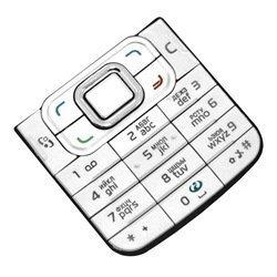 Клавиатура для Nokia 6120 Сlassic (CD003931) (белый)