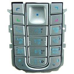 Клавиатура для Nokia 6230 (CD001429) (серебристая)
