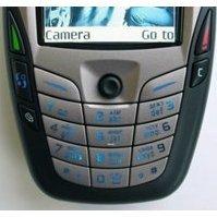 Клавиатура для Nokia 6600 (CD000548) (серый)