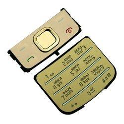 Клавиатура для Nokia 6700 Classic (CD011634) (золотистый)