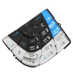 Клавиатура для Nokia 7610 Supernova (CD001091) (синий)