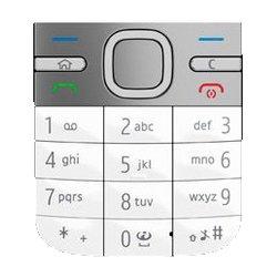 Клавиатура для Nokia C5 (CD013221) (белый)