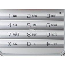 Клавиатура для Sony Ericsson C903 (CD011725) (серебристый)