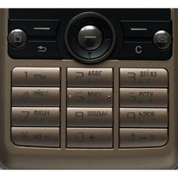 Клавиатура для Sony Ericsson G700 (CD002314) (коричневый)