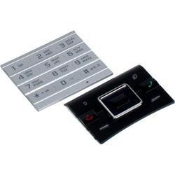 Клавиатура для Sony Ericsson Hazel J20i (CD012433) (черный/серебристый)