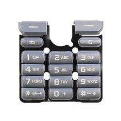 Клавиатура для Sony Ericsson K320 (CD003586) (серебристый)