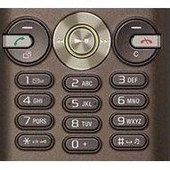 Клавиатура для Sony Ericsson K630 (CD001384) (коричнево-зеленый)