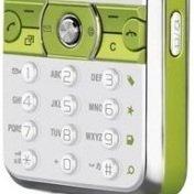 Клавиатура для Sony Ericsson K660 (CD004547) (серебристый/зеленый)