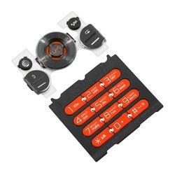 Клавиатура для Sony Ericsson W580 (CD001238) (черный/оранжевый)