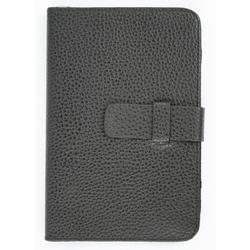 """Универсальный кожаный чехол-книжка для планшетов 8"""" (CD123357) (черный)"""