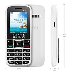 alcatel onetouch 1040d (белый) :::