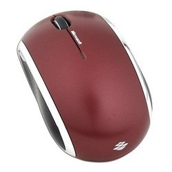 microsoft wireless mobile mouse 6000 red usb