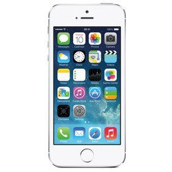 Apple iPhone 5S 16Gb MF353ZA/A (серебристый) :