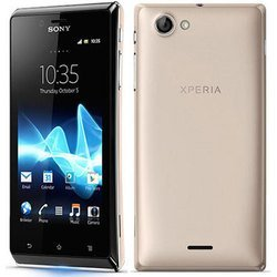 Sony Xperia J ST26i White box () (золотистый) :