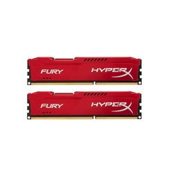 ����� ������ Kingston 8GB 1866MHz DDR3 CL10 DIMM (Kit of 2) HyperX FURY Red Series (HX318C10FRK2/8)