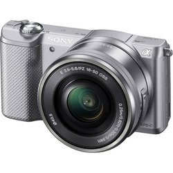 Sony Alpha A5000 Kit (серебристый)
