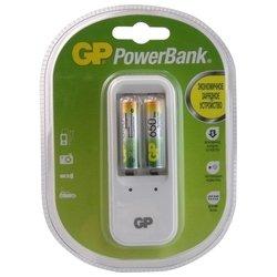 Зарядное устройство + 2 аккумуляторные батареи AA 650 (GP PB410GS65-2CR2)