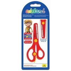 Ножницы школьные Adel 130 мм (ADELAND 460-0145-820) (ассорти)