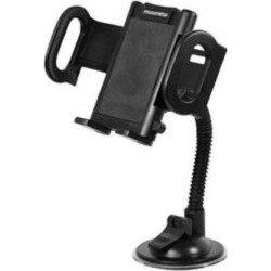 Универсальный автомобильный держатель для устройств шириной от 55 мм до 120 мм (Phantom PH6270) (черный)