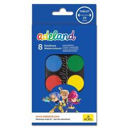 Краски акварельные Adel ADELAND (229-0934-100) (8 цветов)