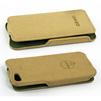 Чехол-флип для Apple iPhone 5, 5S, SE (Ozaki CD126492) (бежевый) - Чехол для телефонаЧехлы для мобильных телефонов<br>Плотно облегает корпус и гарантирует надежную защиту от царапин и потертостей.<br>