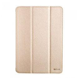 Кожаный чехол-книжка для Apple iPad Air (Belk Smart Protection) (золотистый)