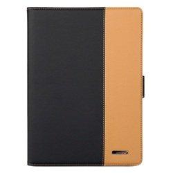 Кожаный чехол-книжка для Apple iPad Air (Rich Boss) (черный/коричневый)