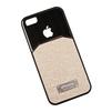 Чехол-накладка для Apple iPhone 5, 5S, SE (R0002736) (бежевая/черная) - Чехол для телефонаЧехлы для мобильных телефонов<br>Плотно облегает корпус и гарантирует надежную защиту от царапин и потертостей.<br>