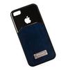 Чехол-накладка для Apple iPhone 5, 5S, SE (R0002740) (синяя/черная) - Чехол для телефонаЧехлы для мобильных телефонов<br>Плотно облегает корпус и гарантирует надежную защиту от царапин и потертостей.<br>