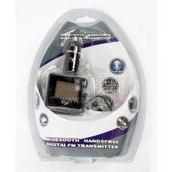 Bluetooth FM модулятор BT-891 (Дисплей/пульт/USB/SD/Line-in) Черный